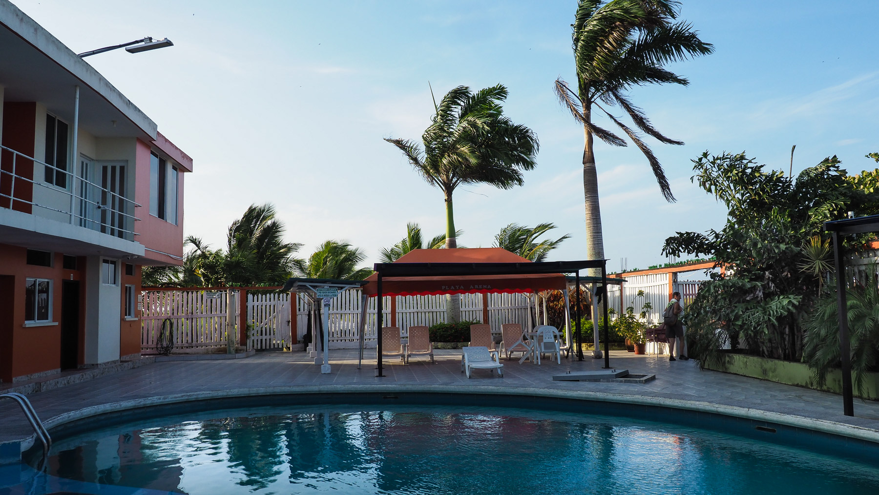 Cabanas (Zimmer) mit Pool