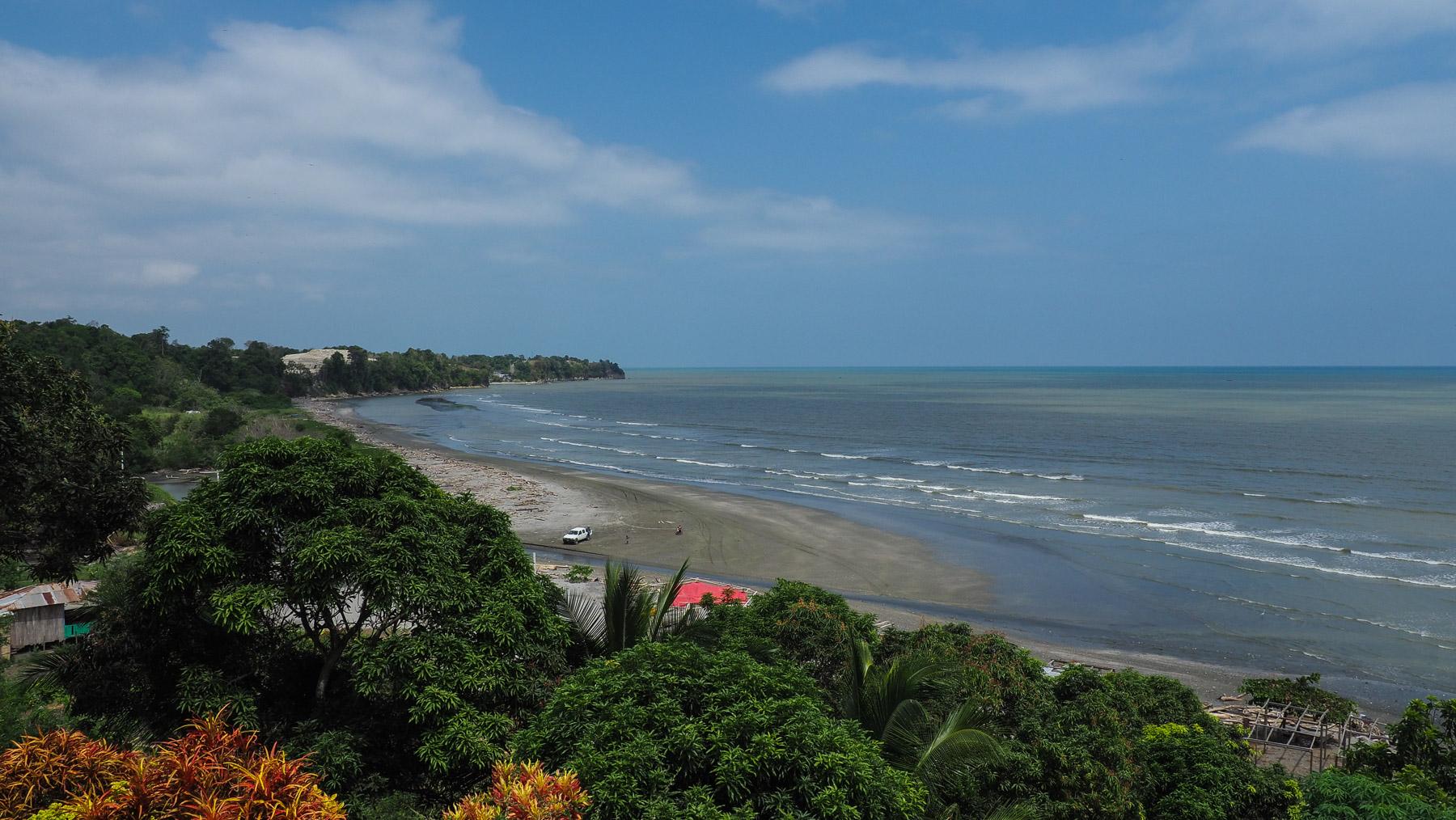 Der Afrikanische Strand in Ecuador