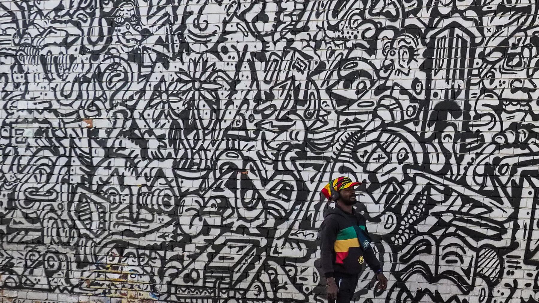 Street- und Lebensart in Bogota
