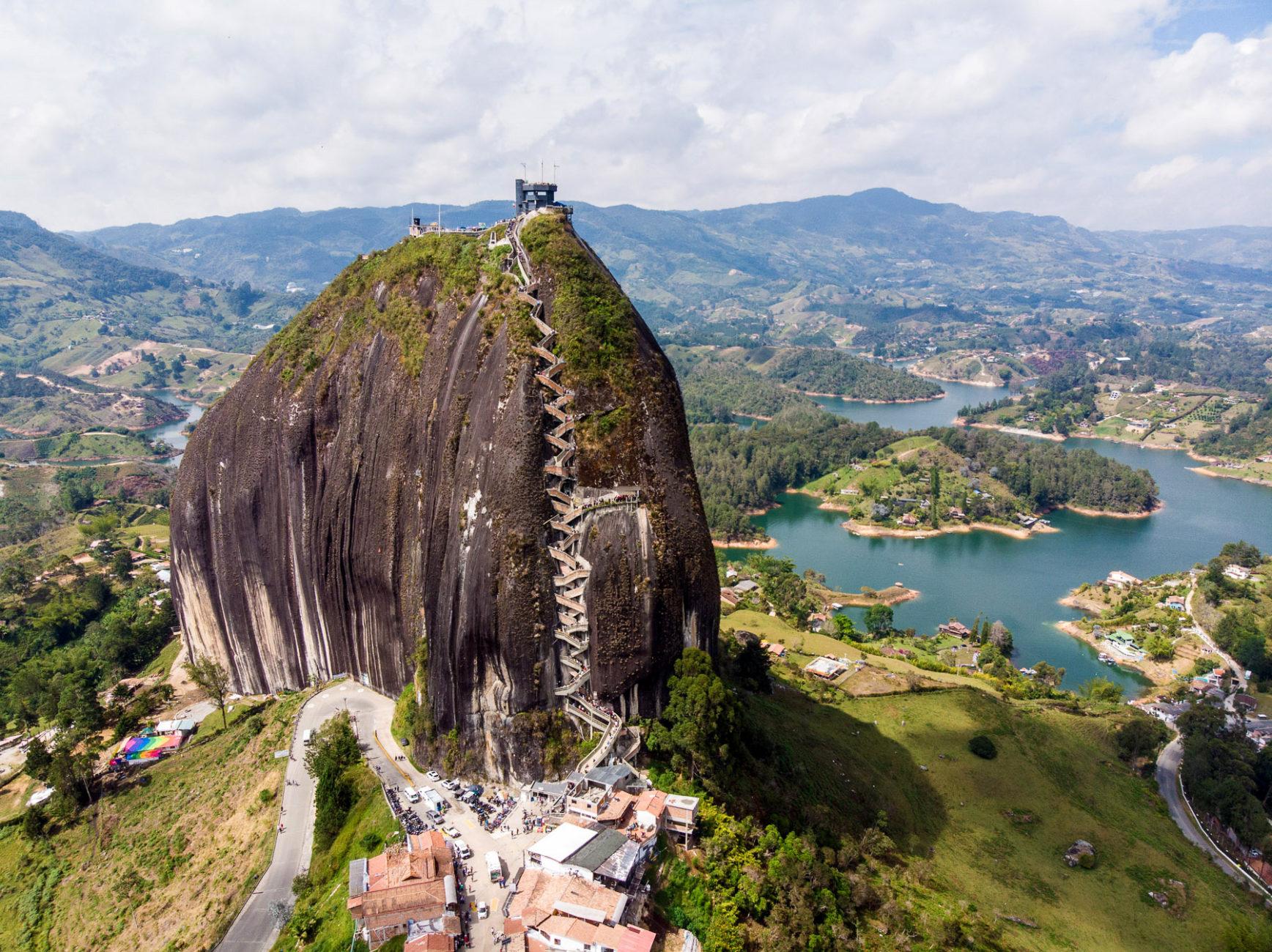 El Penon, ein einzelner merkwürdiger Granitblock mit super Aussicht