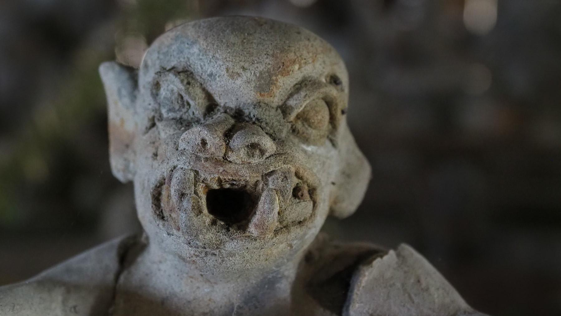 Seltsame Gestalten in einem skurrilen Museum am Ende der Welt