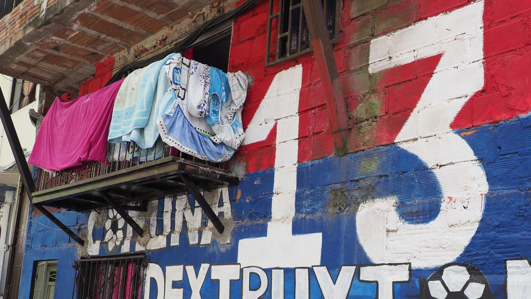 Comuna 13, das bekannteste Gang-Viertel, in dem man heutzutage sogar eine Führung mitmachen kann