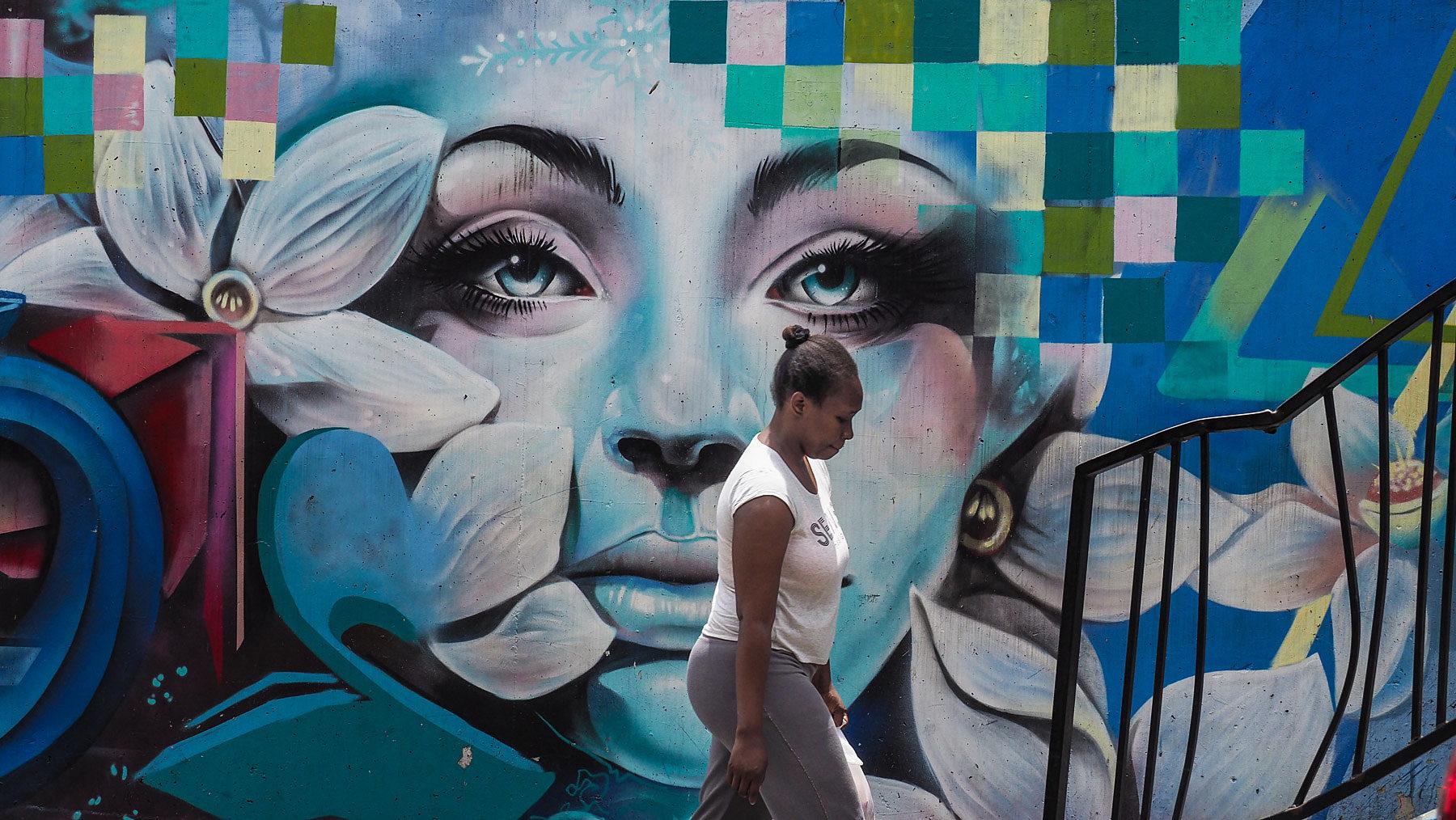 Streetart in der Comuna 13