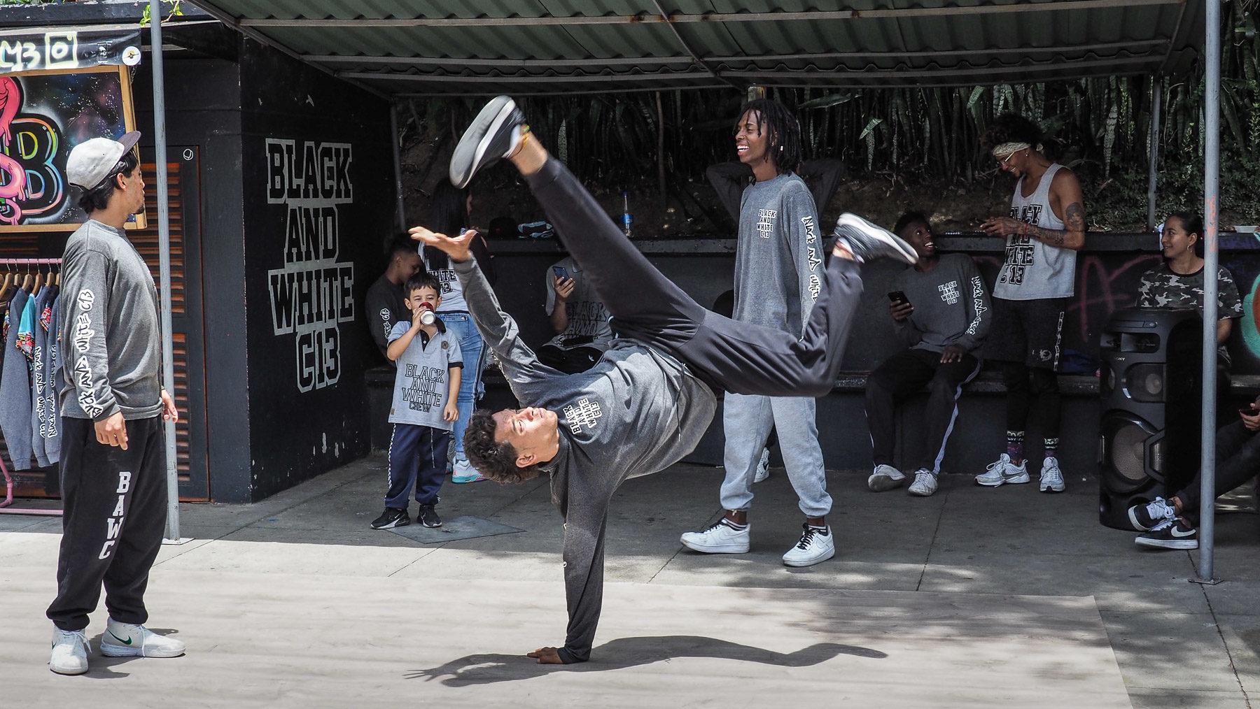 Die Jugend heute in der Comuna 13 mit Rap und Hip Hop