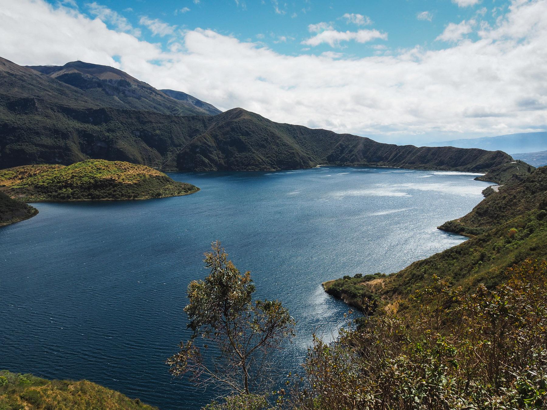 Kratersee Laguna Cuichocha