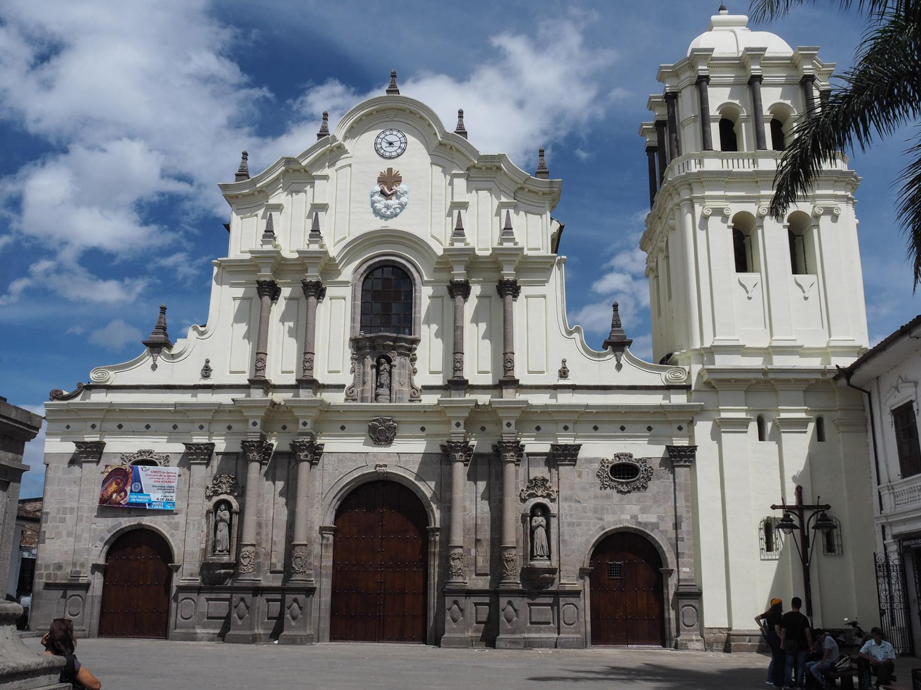 Die weiße Stadt Popayan