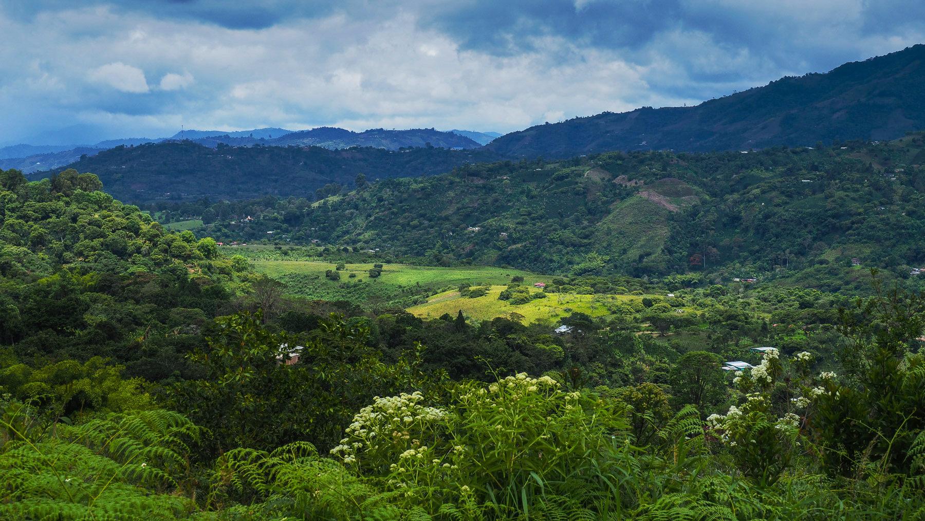 Kolumbianische Landschaft