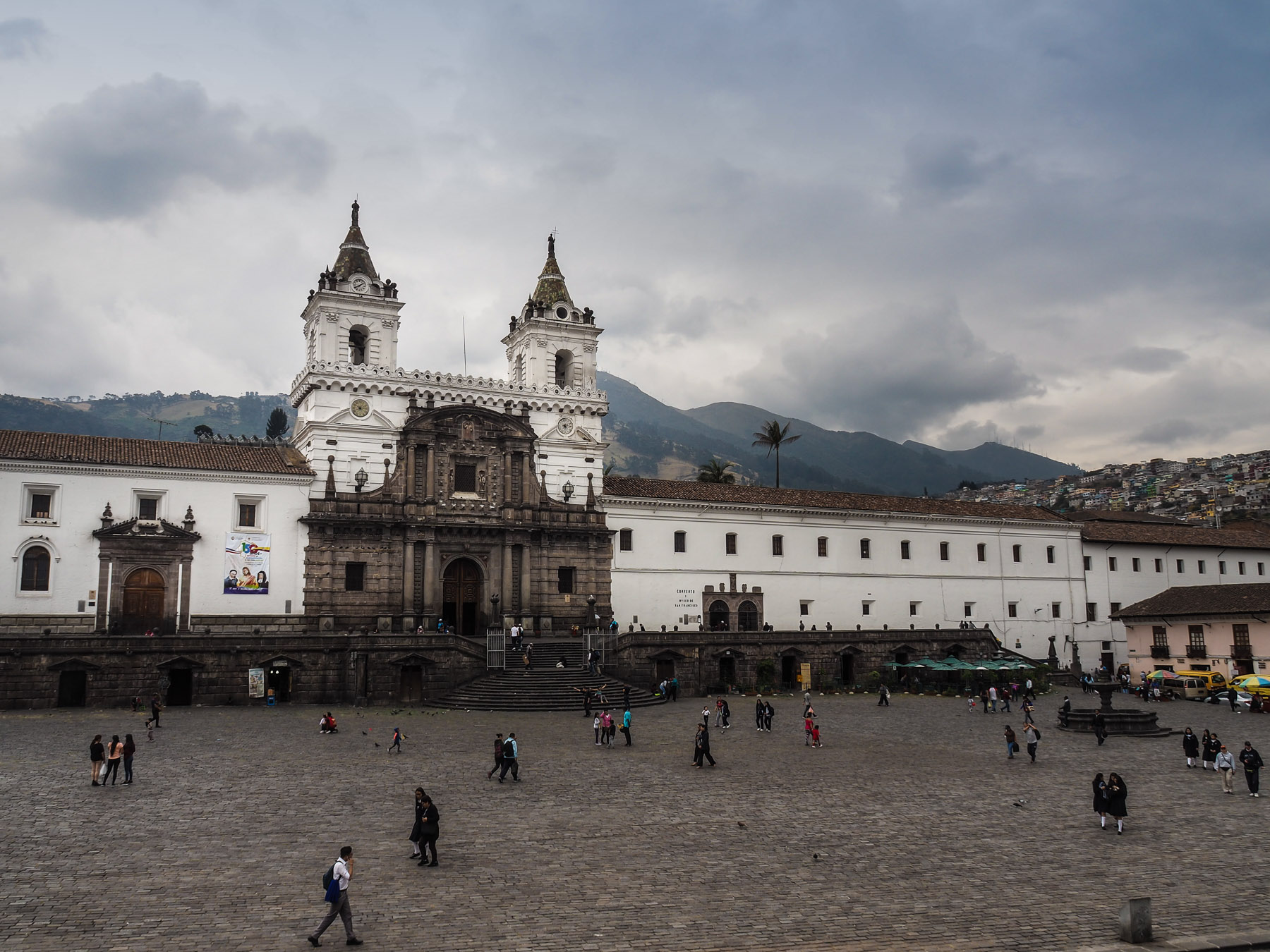 Hauptplatz in Quito