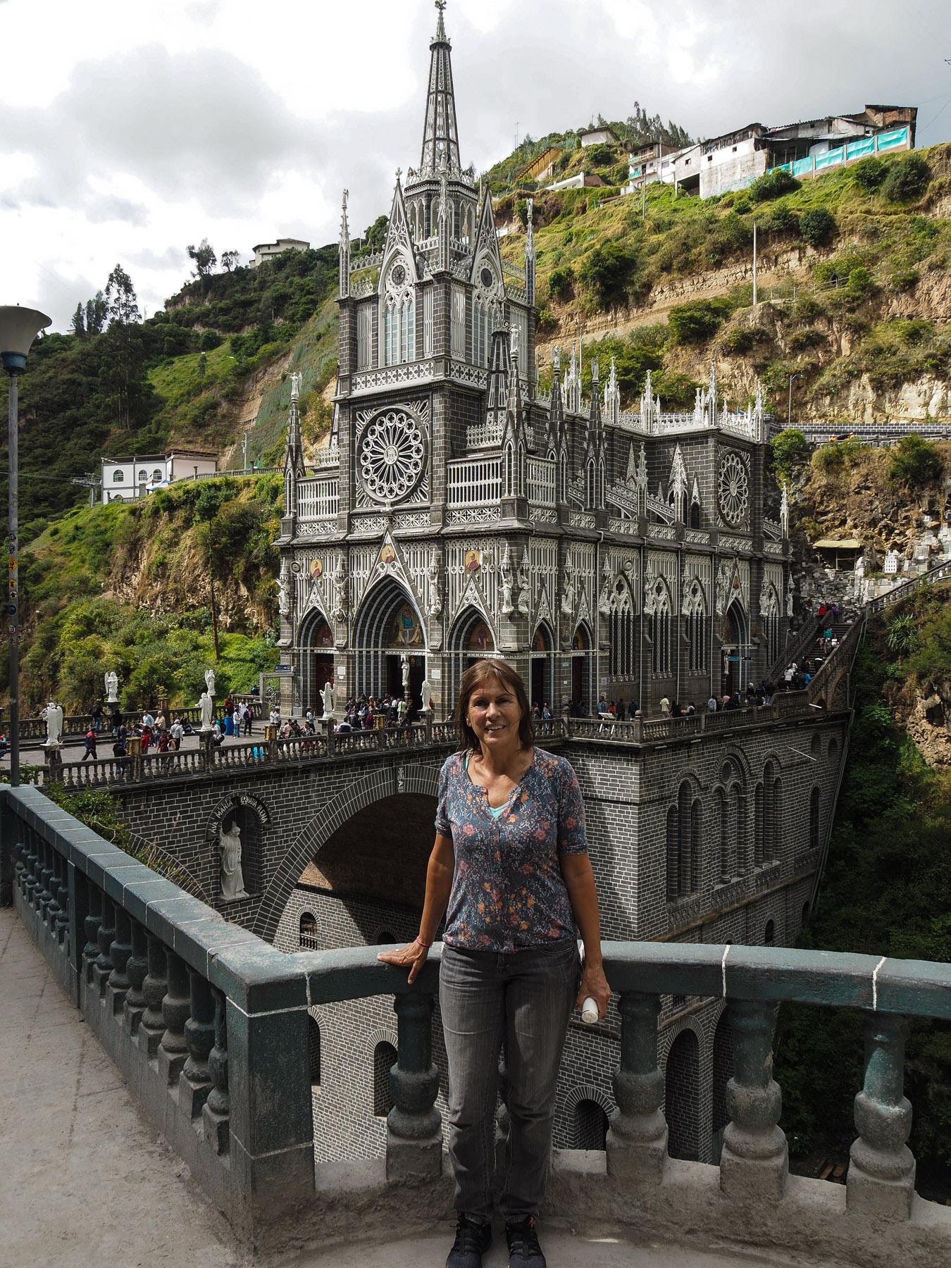 Santuario de las Lajas – an der Grenze zu Ecuador