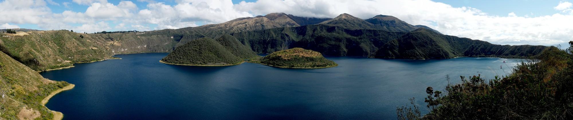 Wunderschöne Cuichocha Lagoon