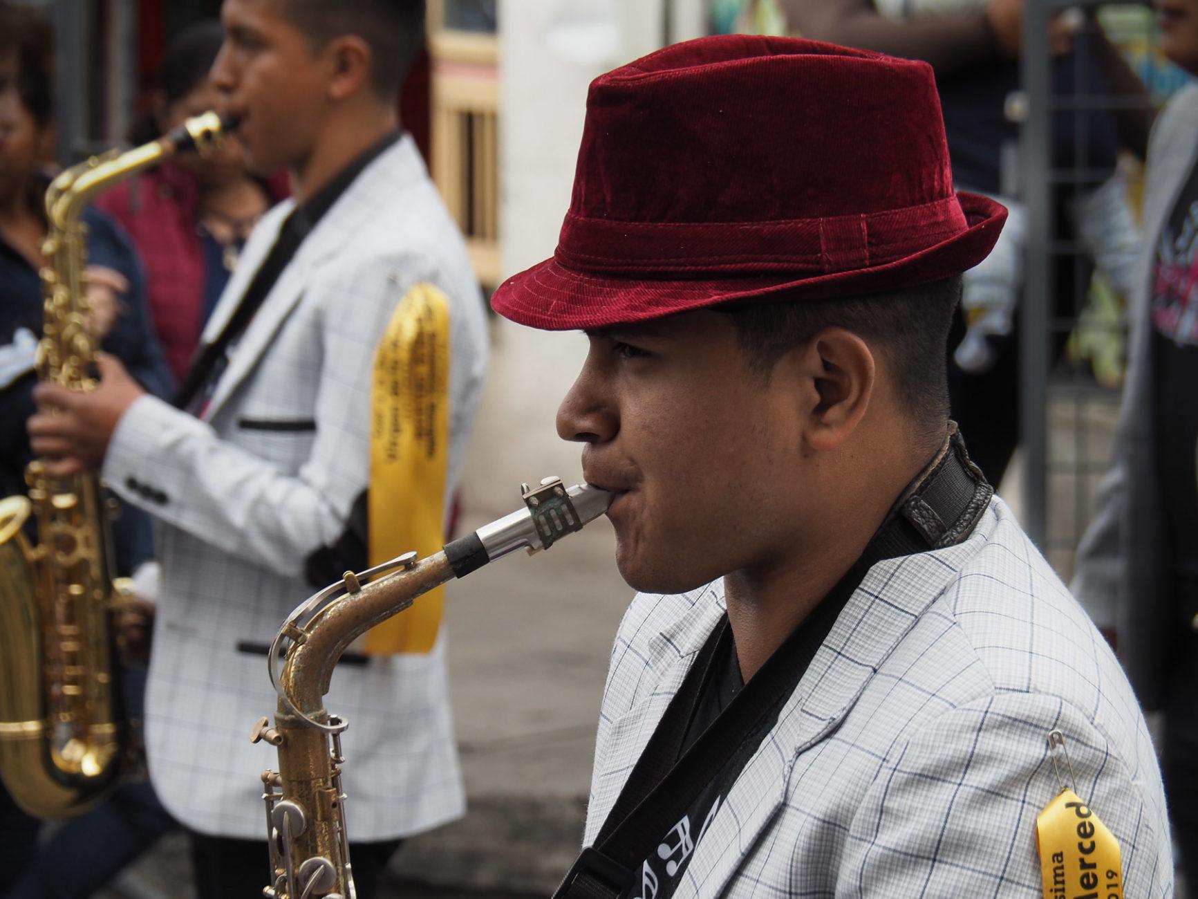 Die Saxophonspieler