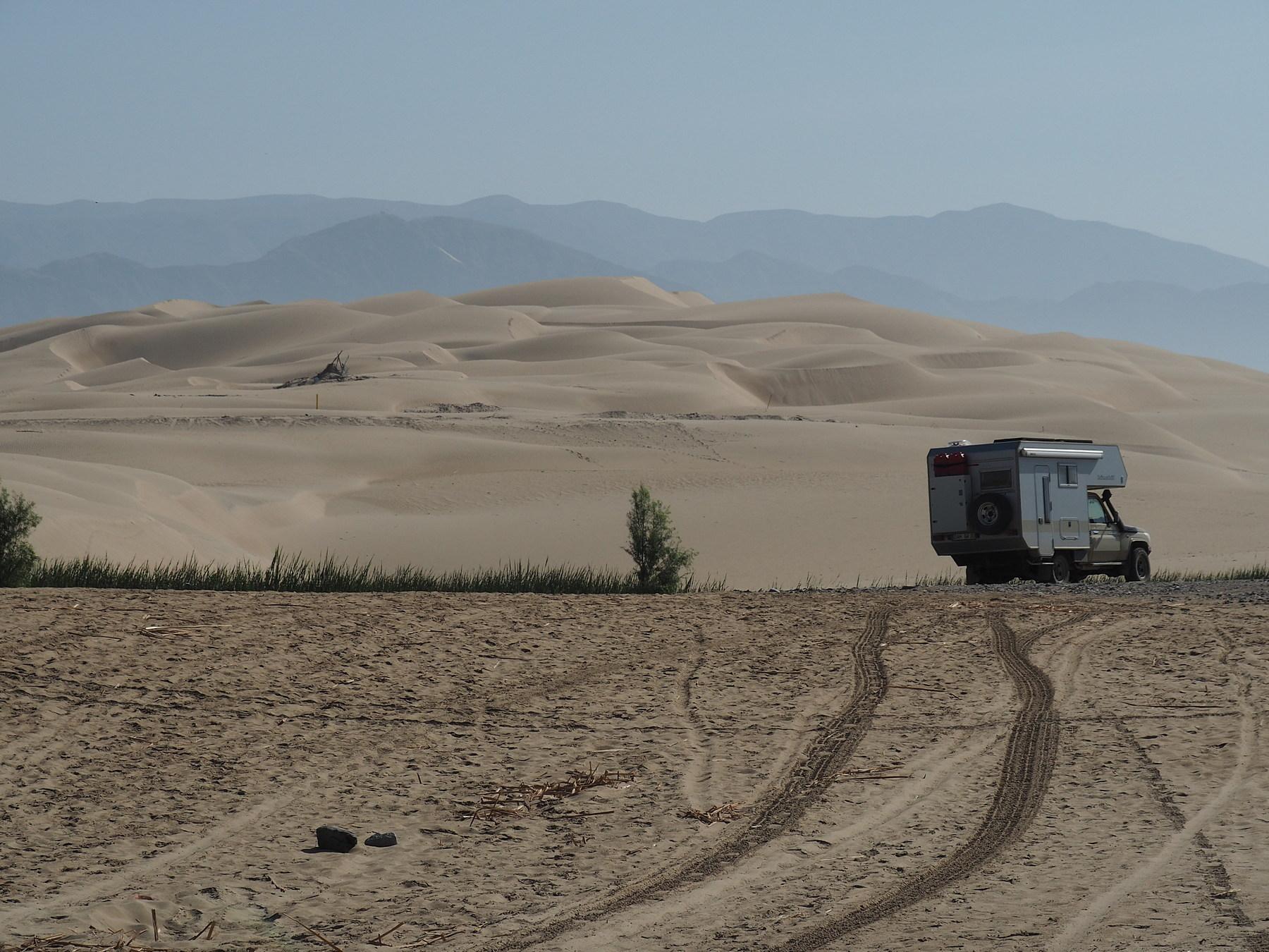 Umgebung für Wüstenfans