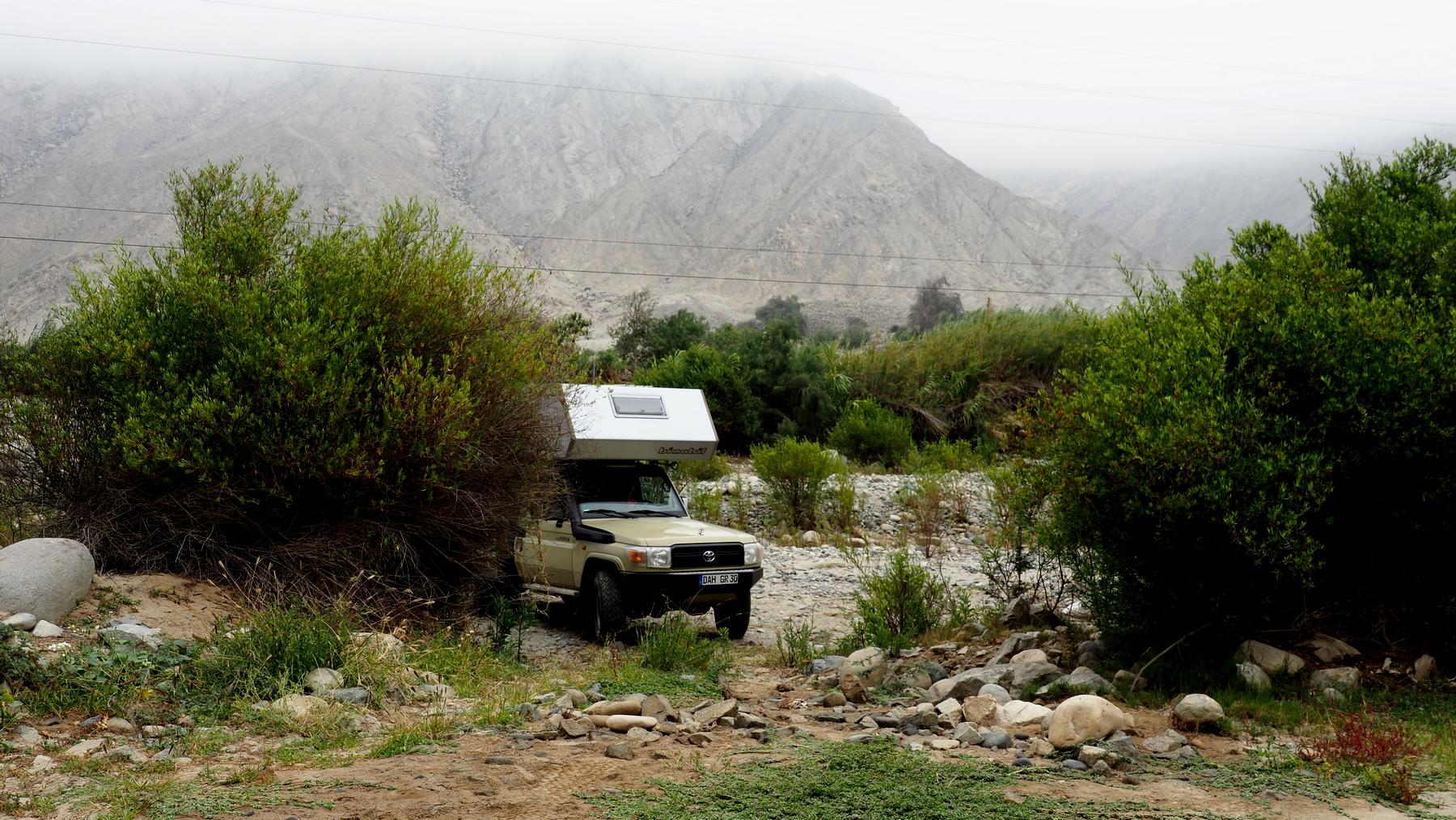 Hideaway im Flussbett
