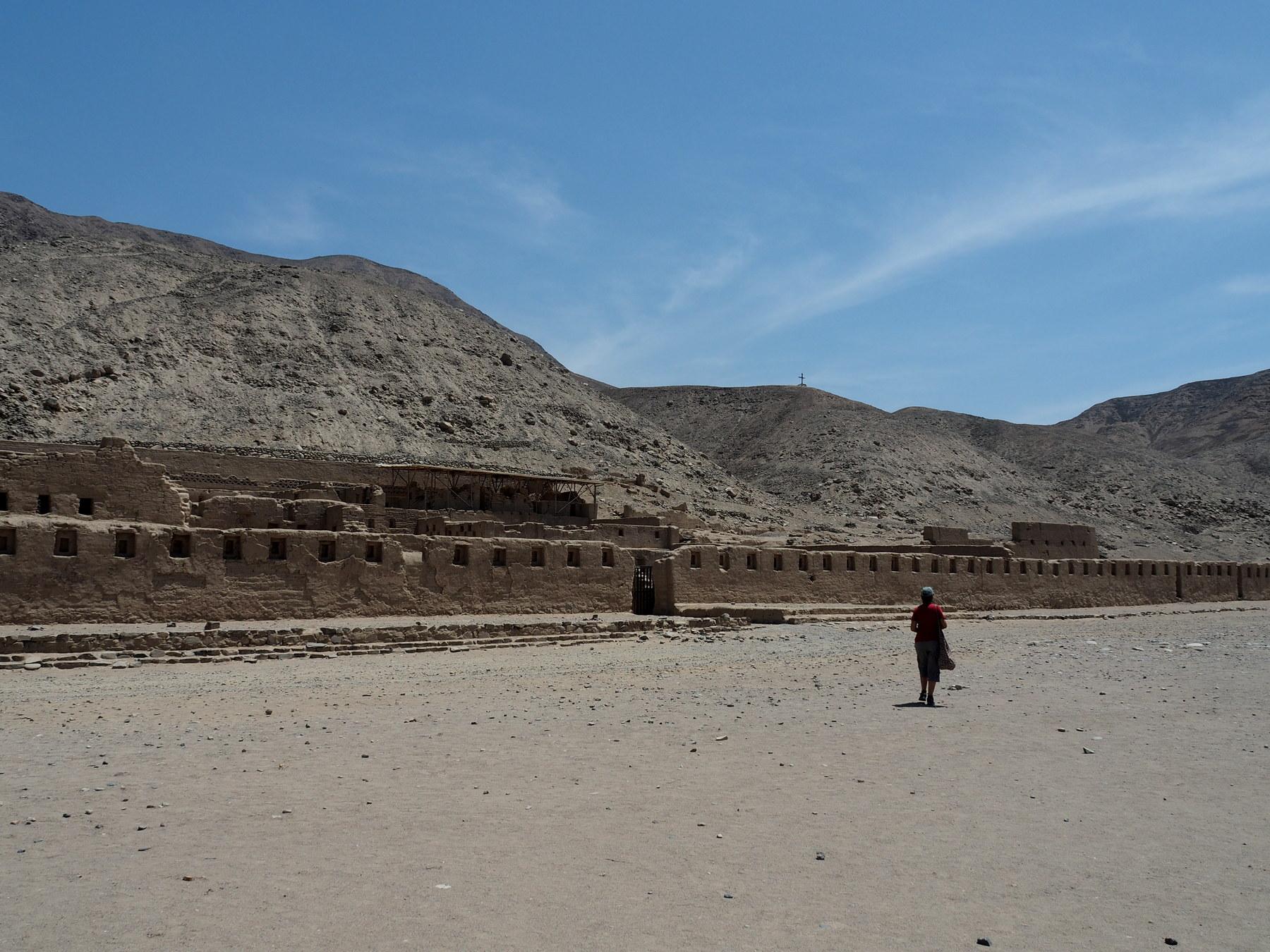 Verwaltungs-Stadt der Incas
