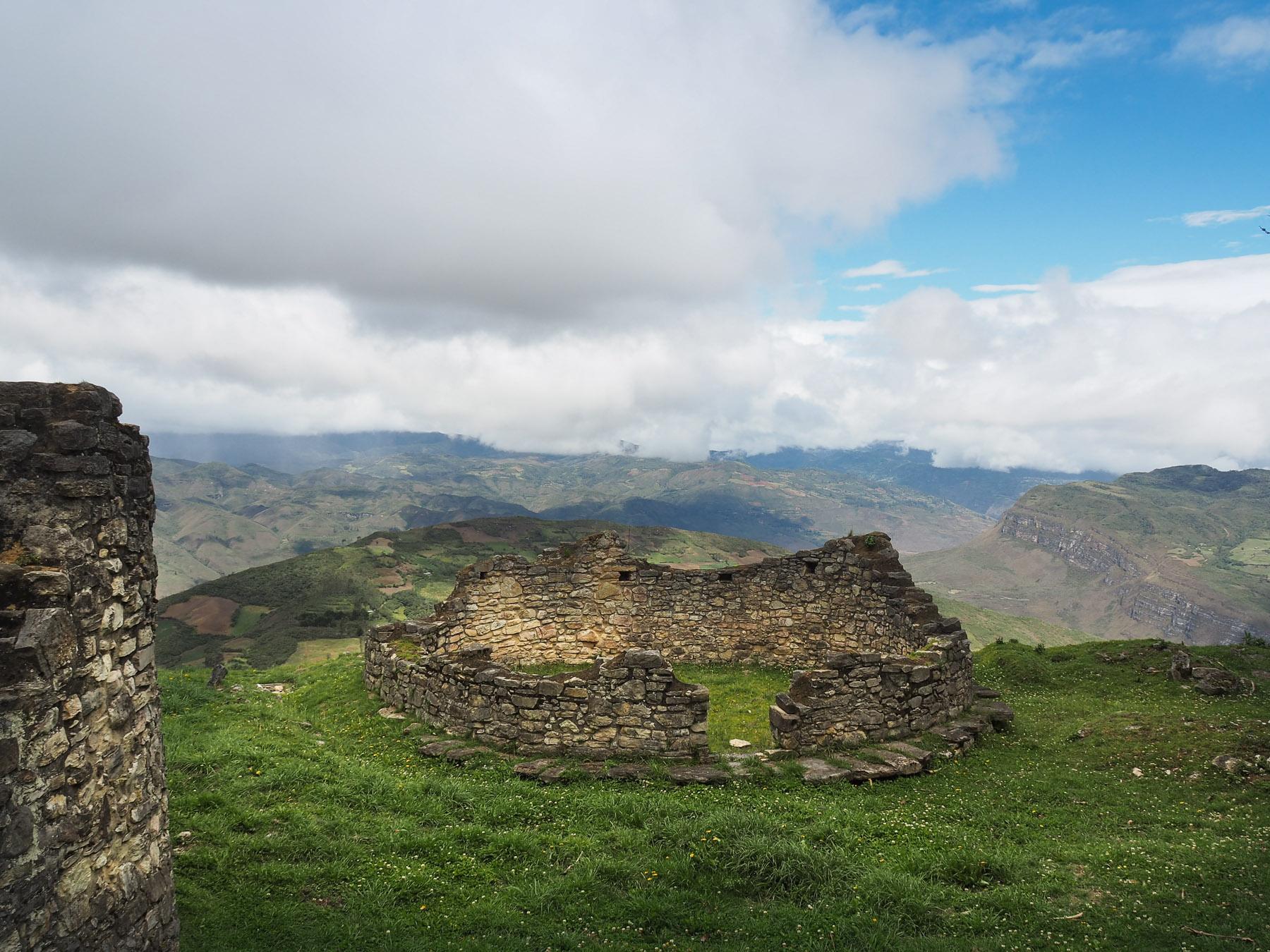Weiter Blick  übers Land aus 3000 m Höhe