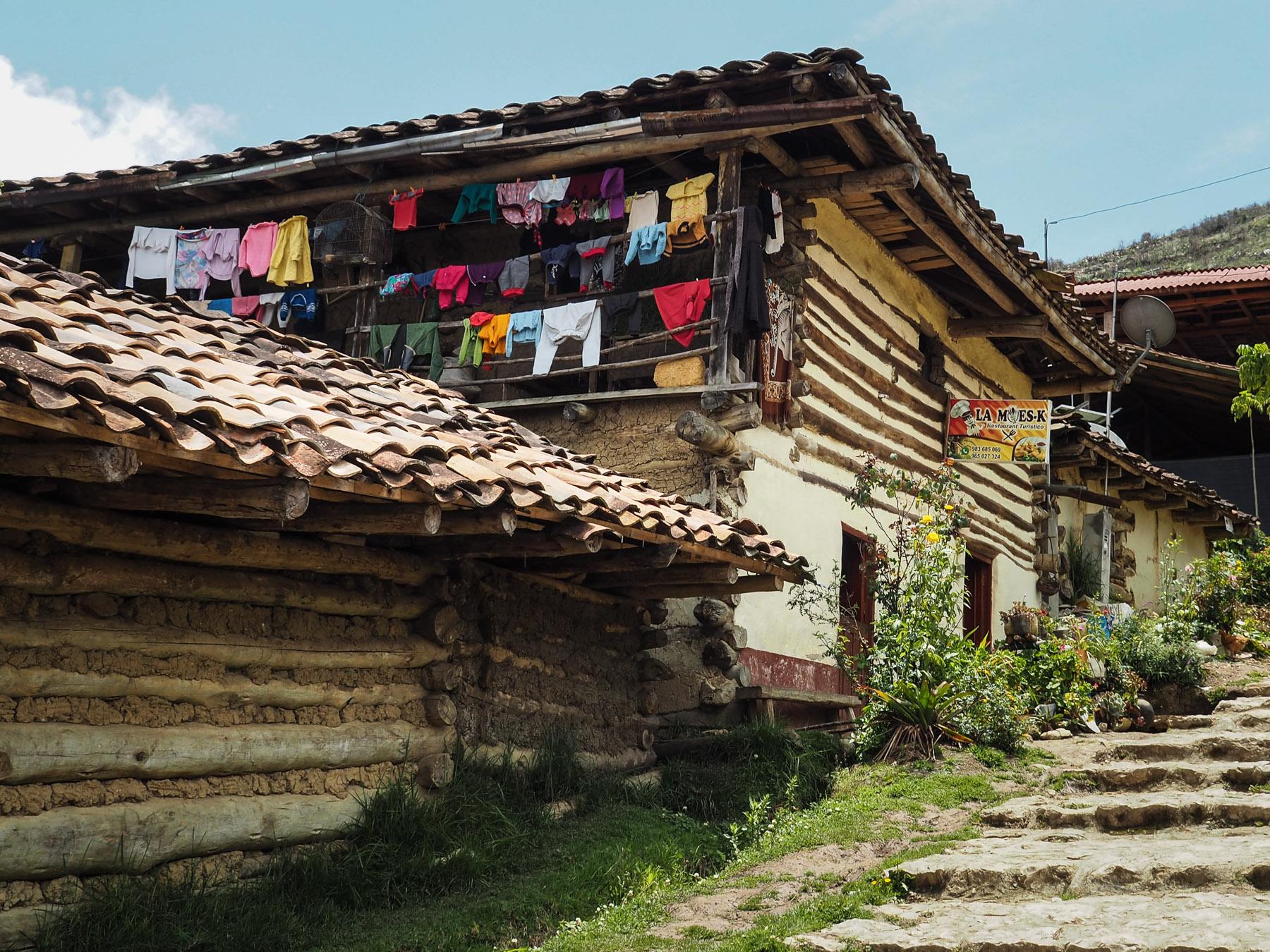 Dorf San Bartolo auf 2800 m Höhe