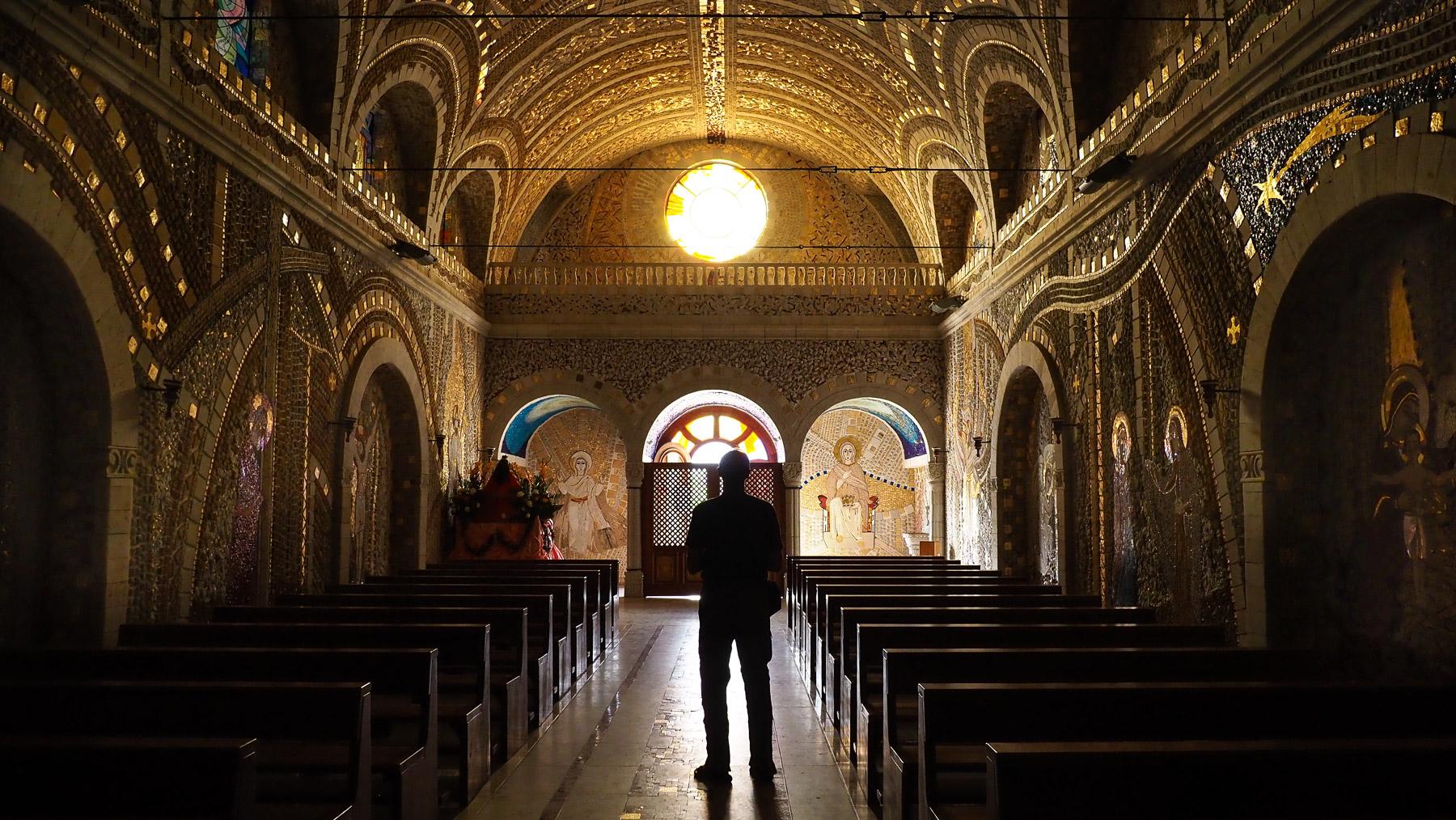 Santuario de la Virgin del Rosario de Polloc