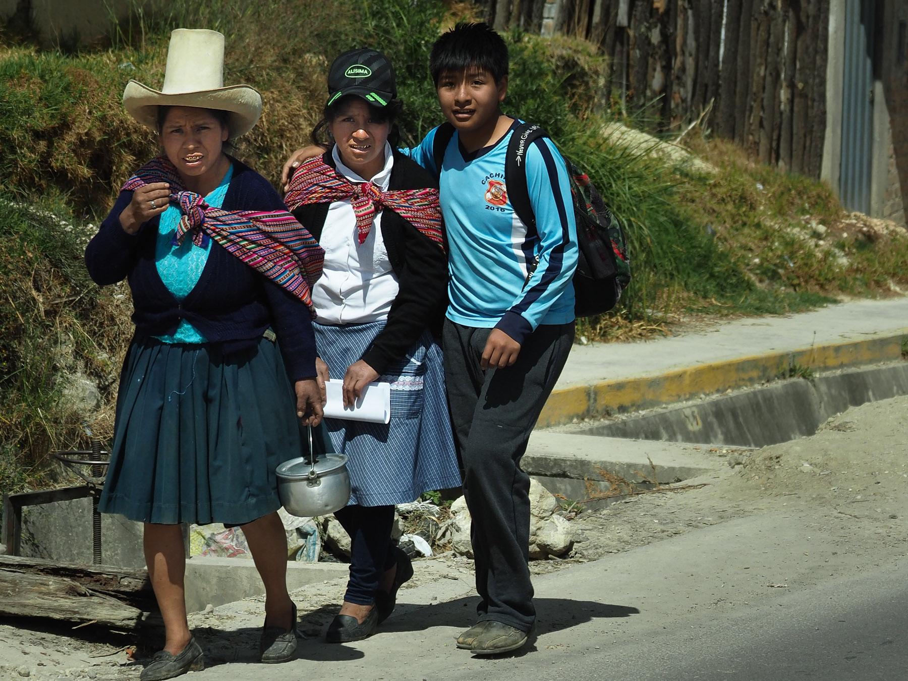 Hutmode im Norden Perus