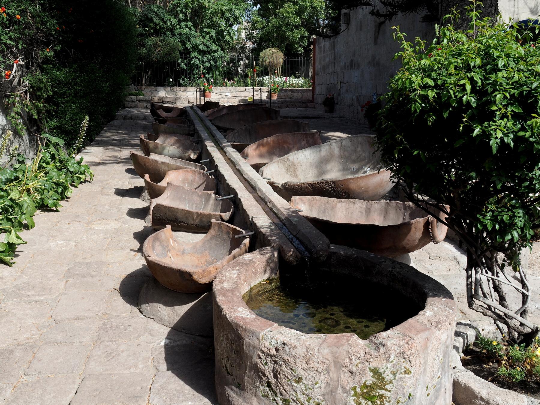 Großer Waschplatz
