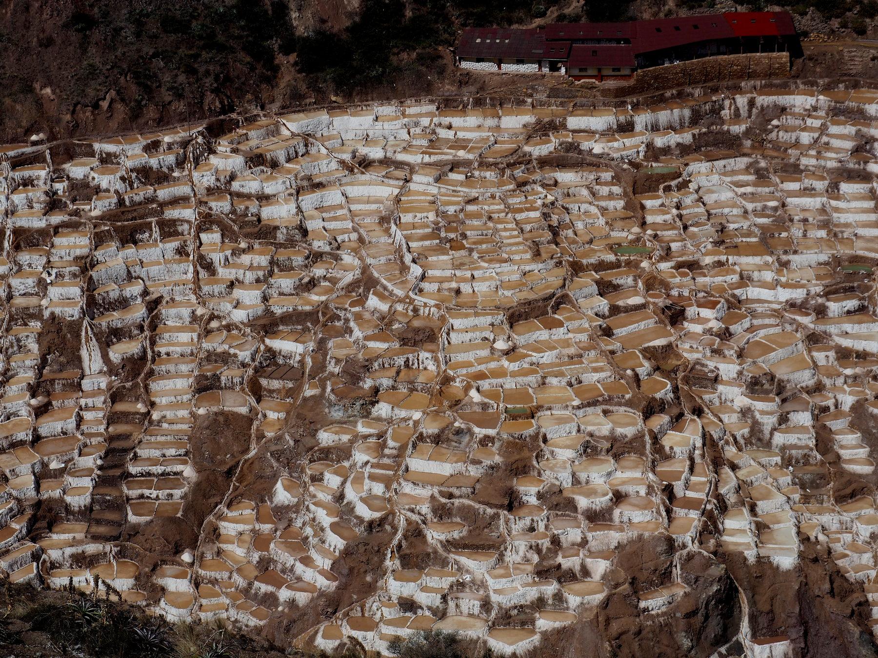 Alte Strukturen zur Salzgewinnung