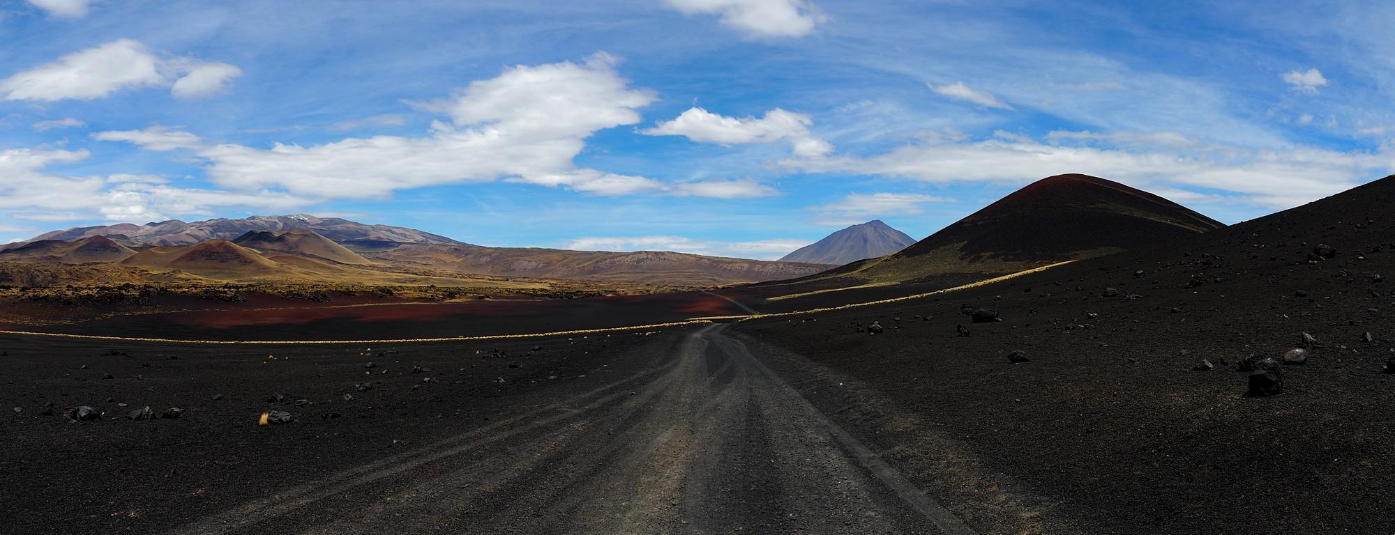 Vulkan-Landschaft...