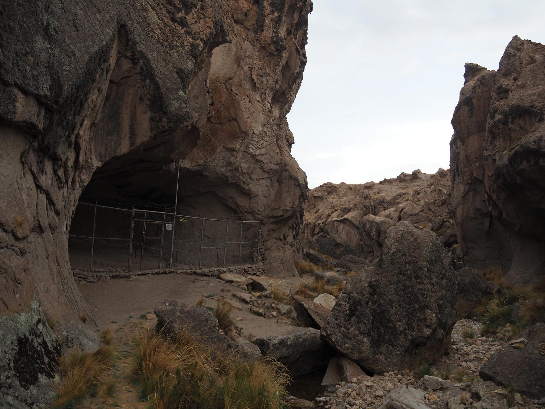 Höhle mit 8.000 Jahre alten Zeichnungen