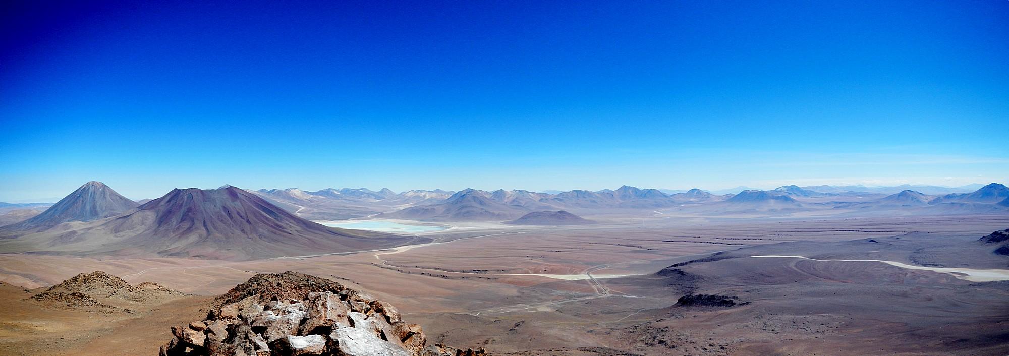 Tolle Aussicht vom Vulkan Toco