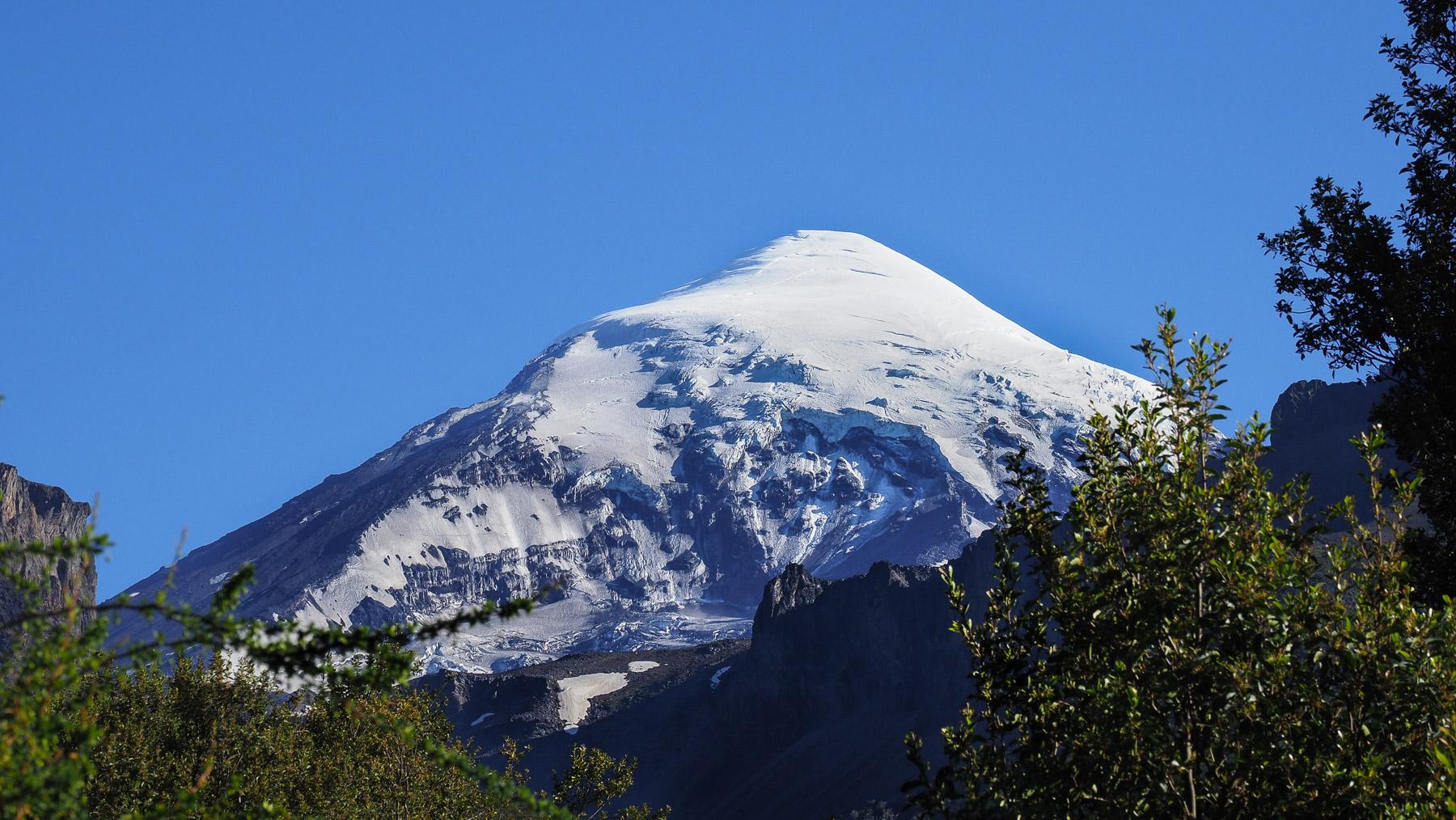 Der Vulkan Lanin