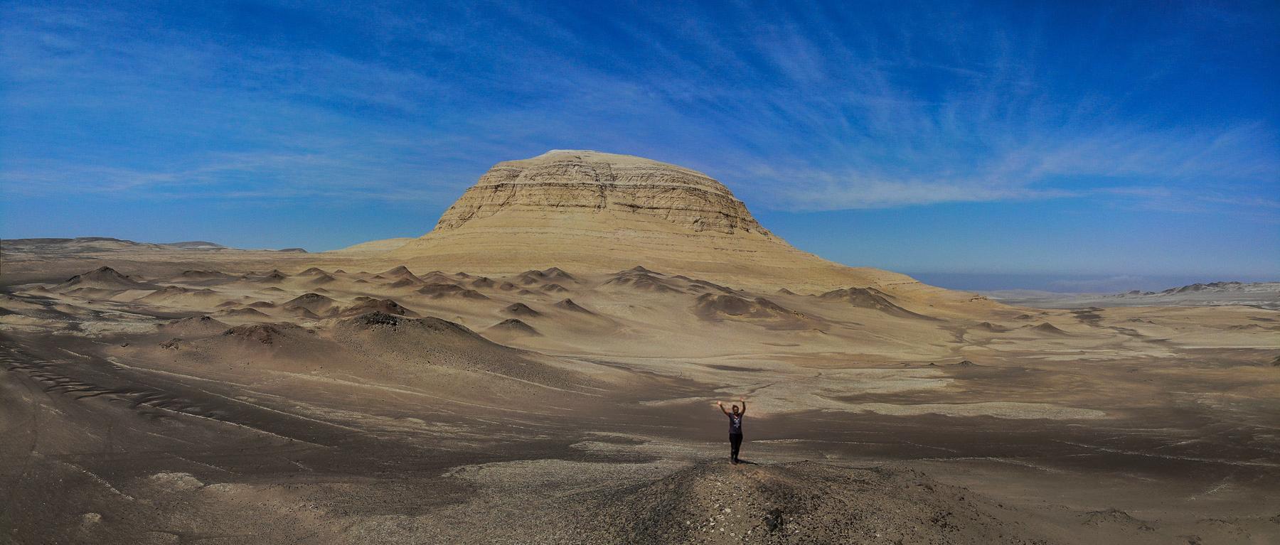 Kleine Wanderung in der Wüste