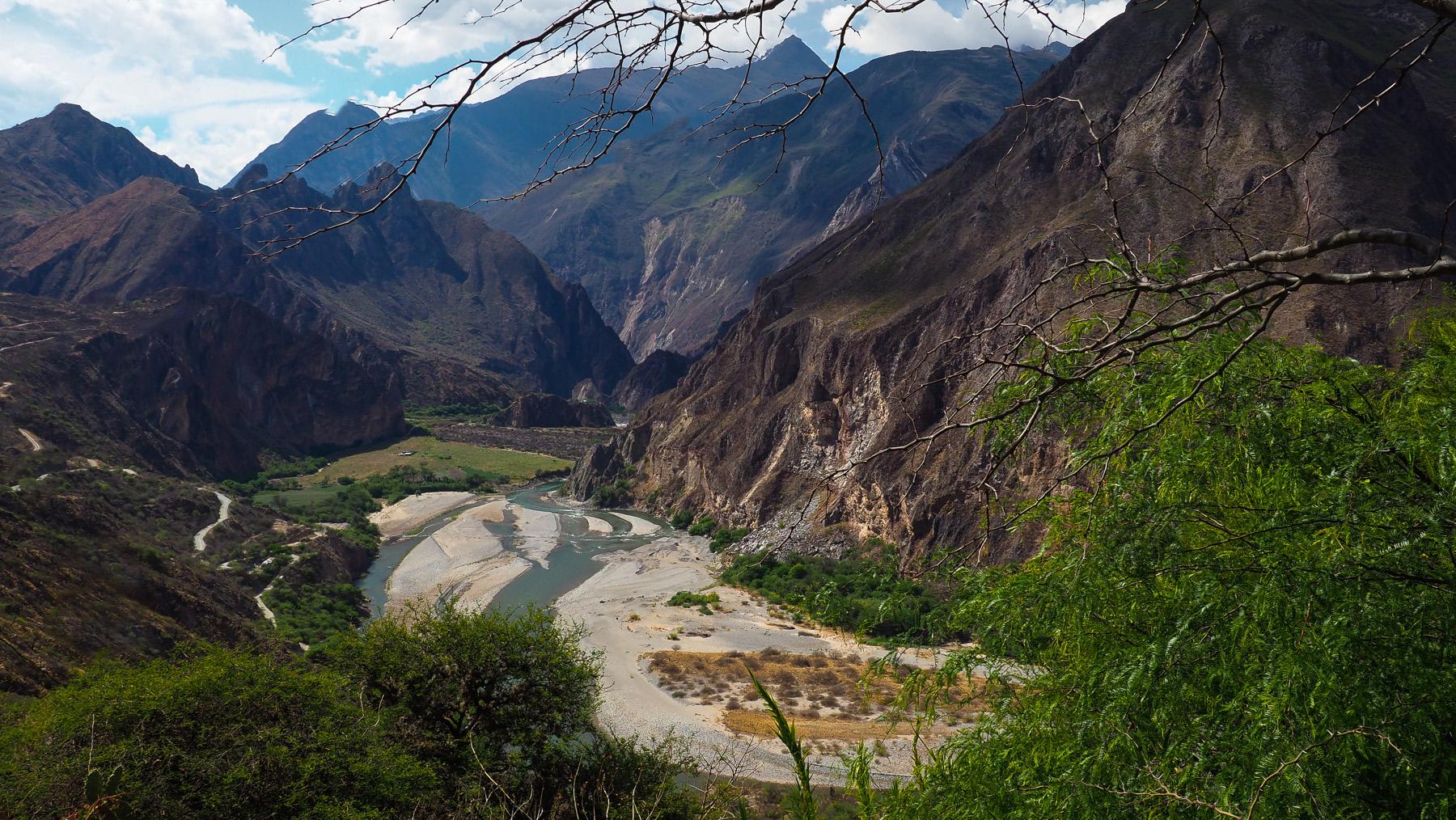 Der schöne Apurimac Canyon