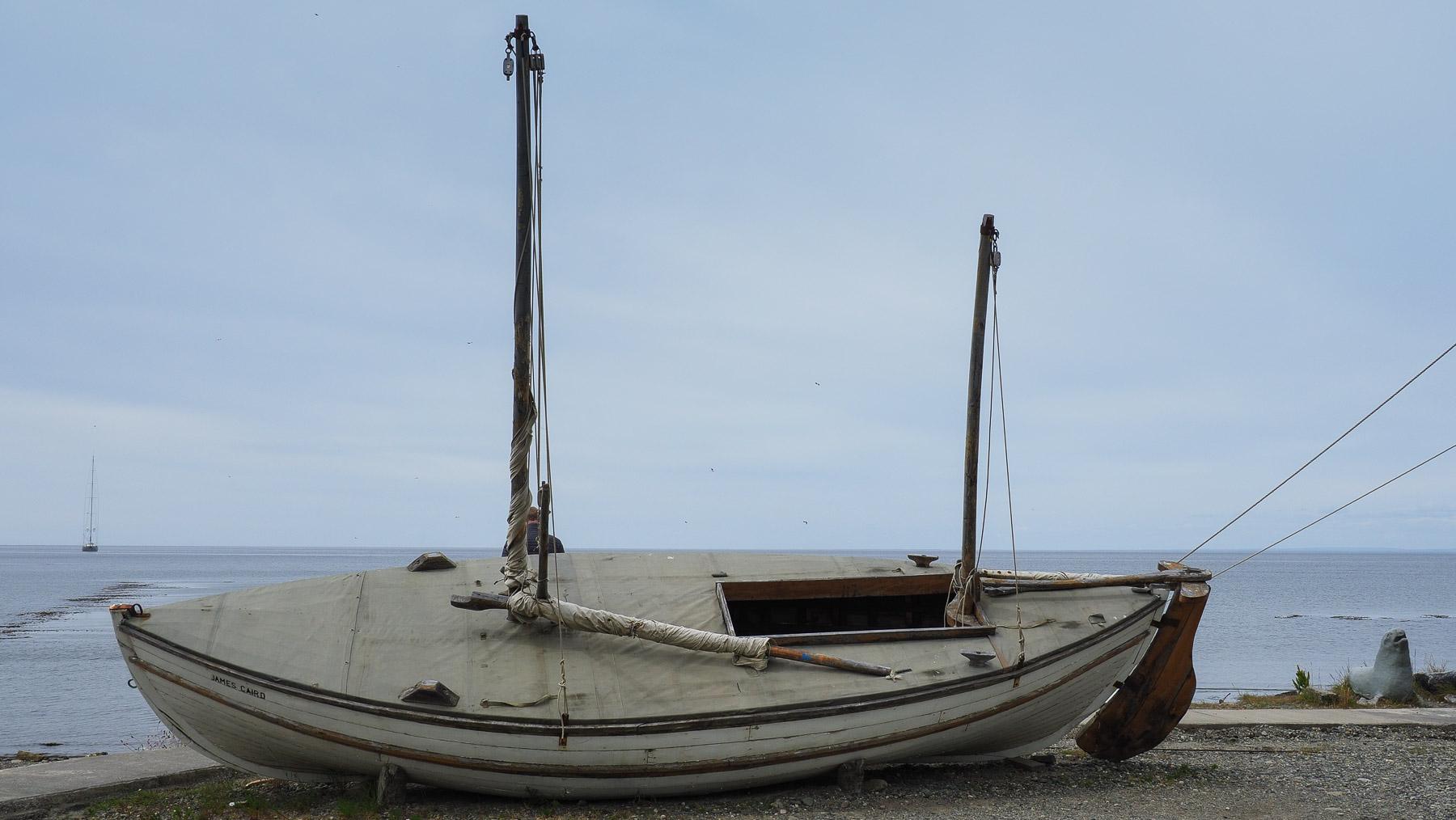 Die James Caird, im wahrsten Sinne ein Rettungsboot