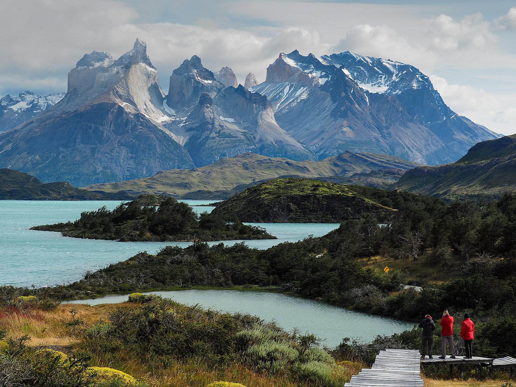 Die Cuernos del Paine, einfach großartig!