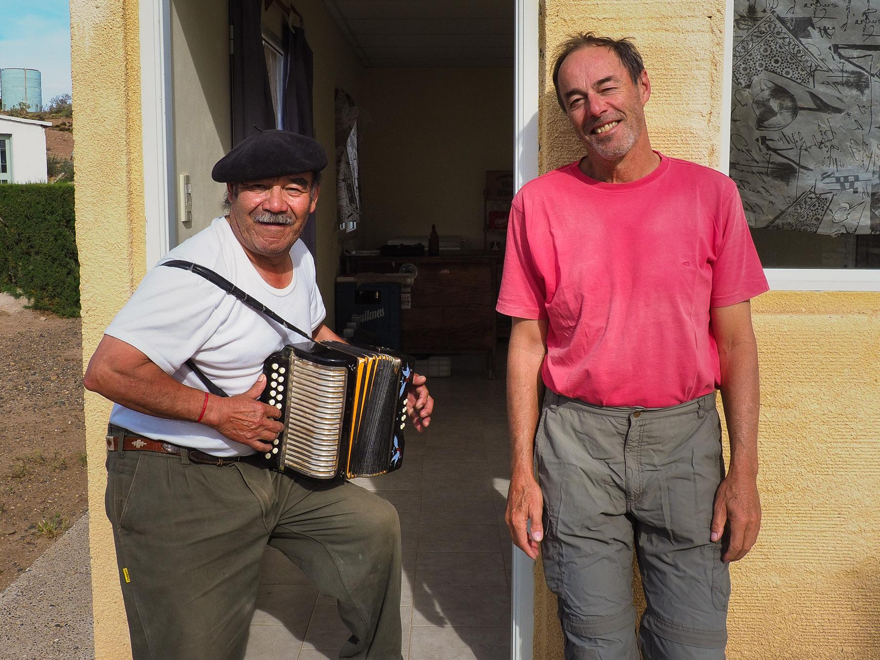 Segundo und seine Hohner