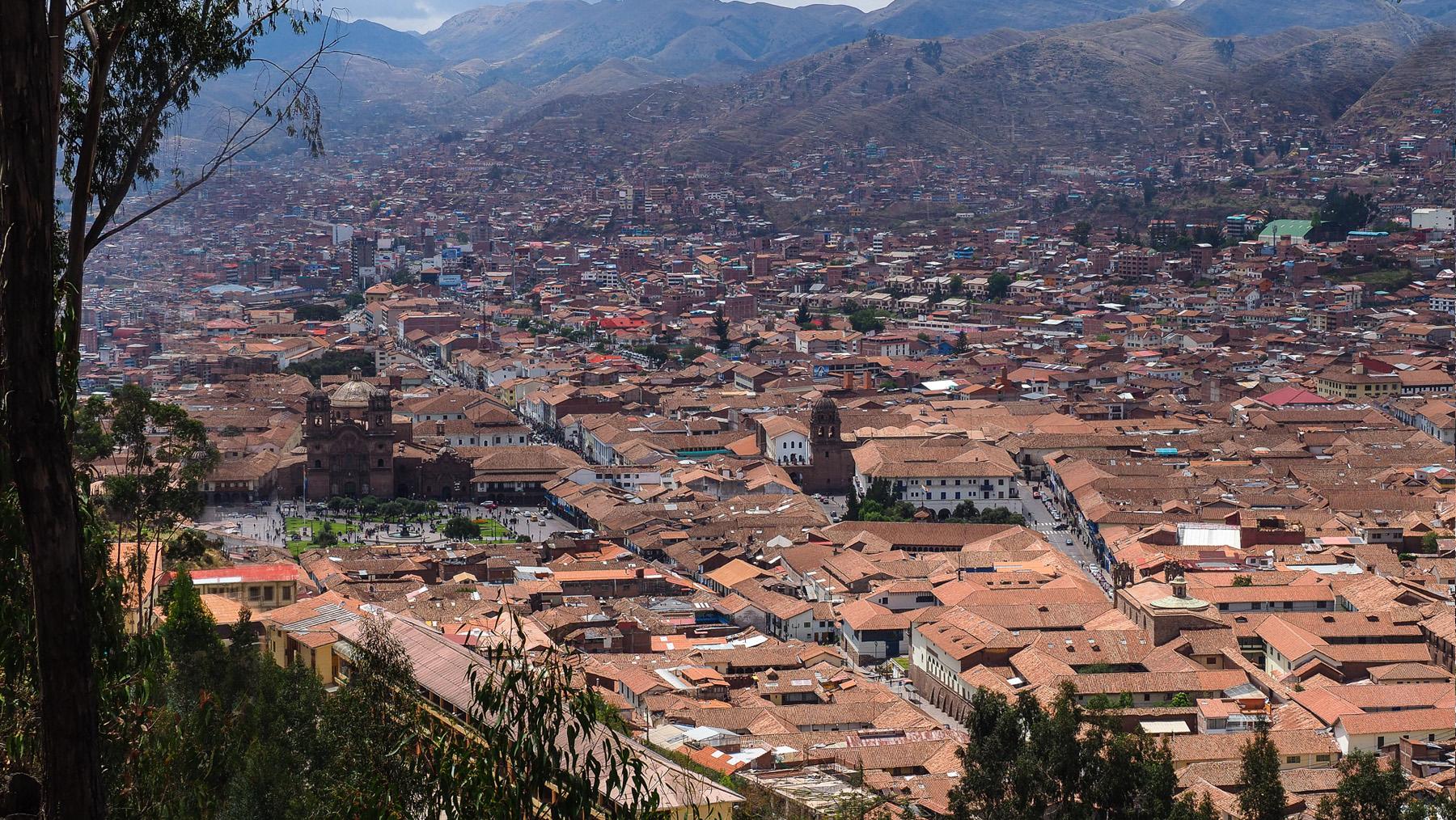 Die Altstadt von Cusco ist eine der schönsten Städte auf unserer Reise