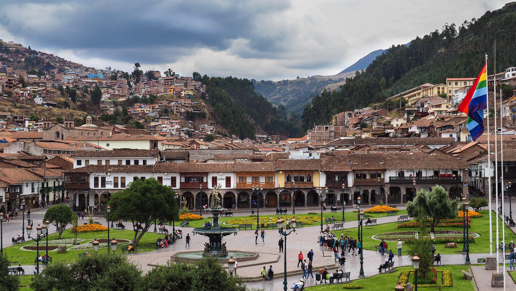 Alte spanische Kolonialstadt Cusco