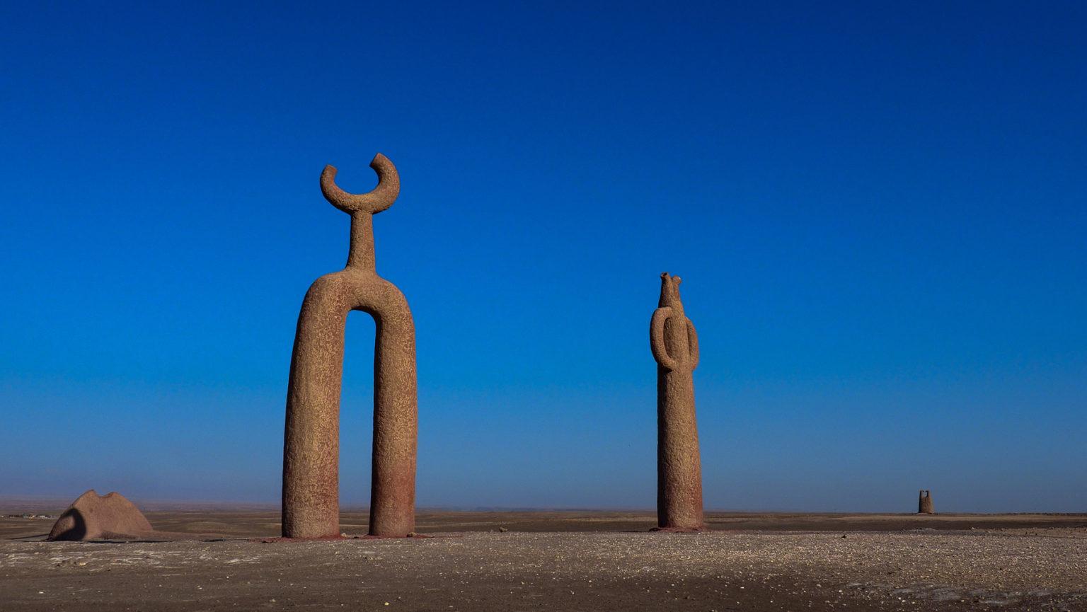 Faszinierende Skulpturen in der Wüste im Norden Chiles