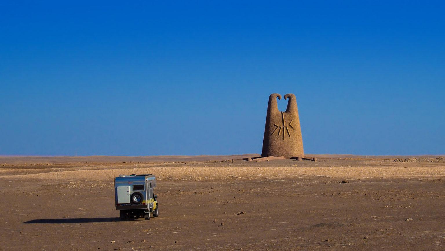 In der Nähe von Arica in der Wüste Chiles