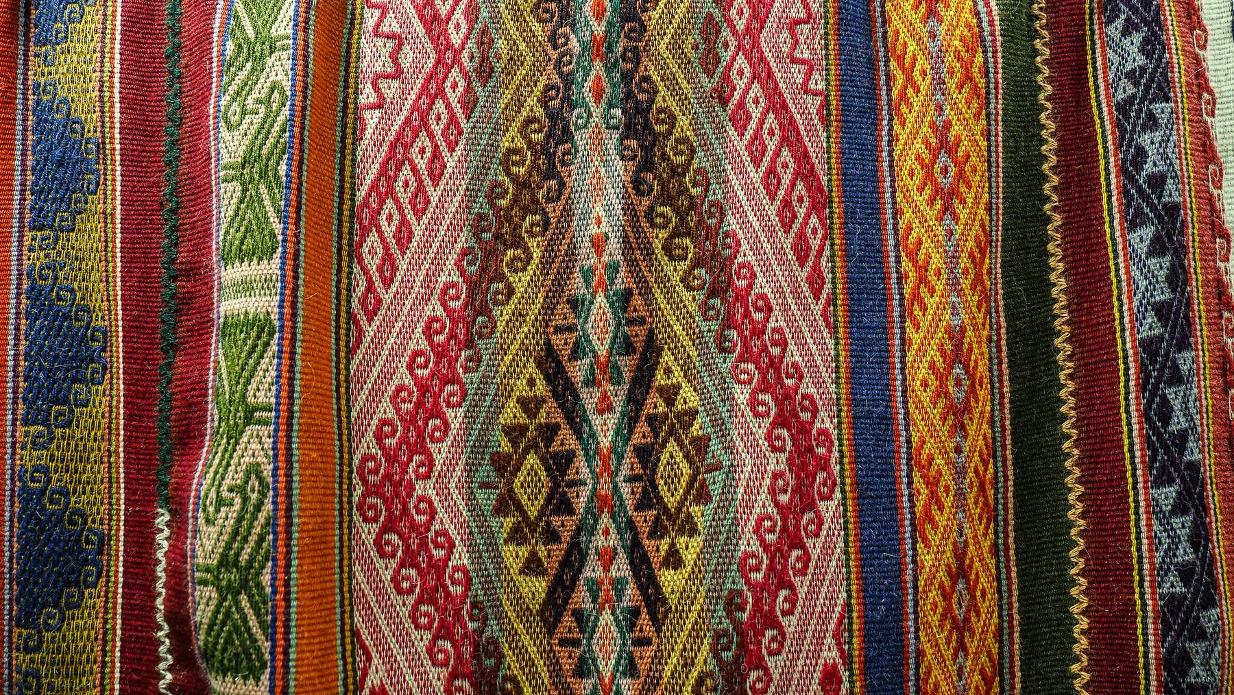 Schöne Muster und Farben