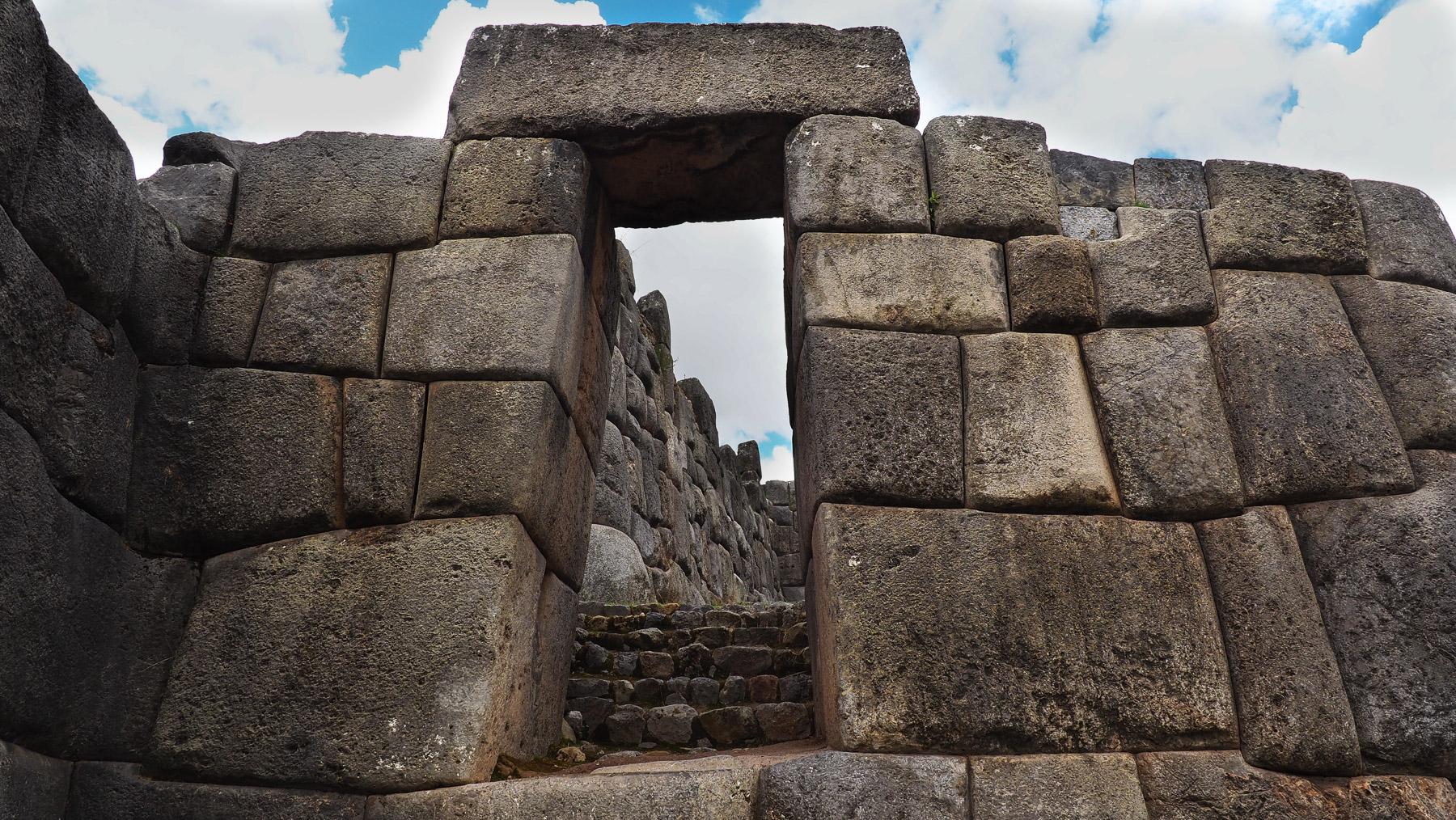 Inkator in Sacsayhuaman