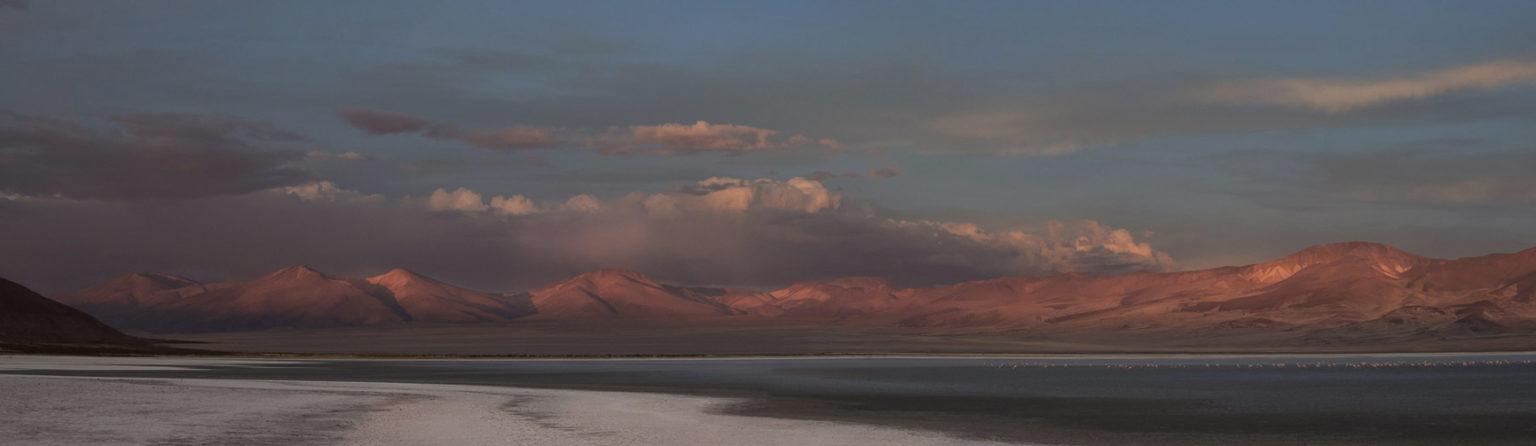 Übernachtung an unserem erster Salzsee Salar de Huasco