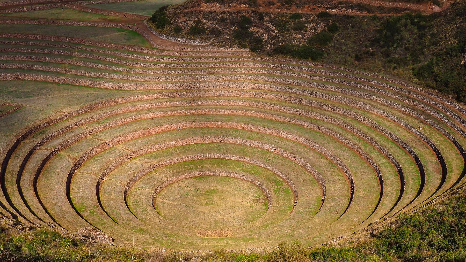 Unsere erste Station im Heiligen Tal der Inka: Moray
