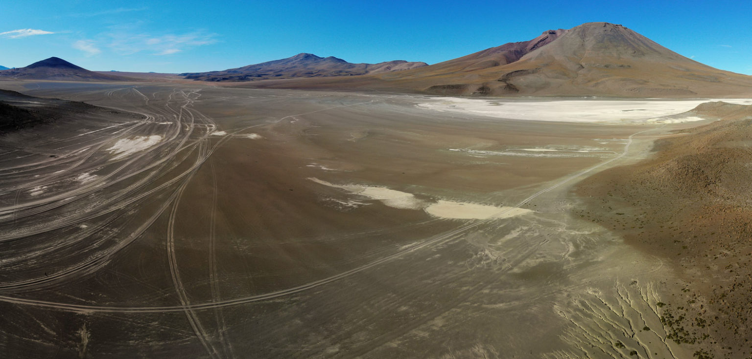Auf der Lagunenroute in Bolivien