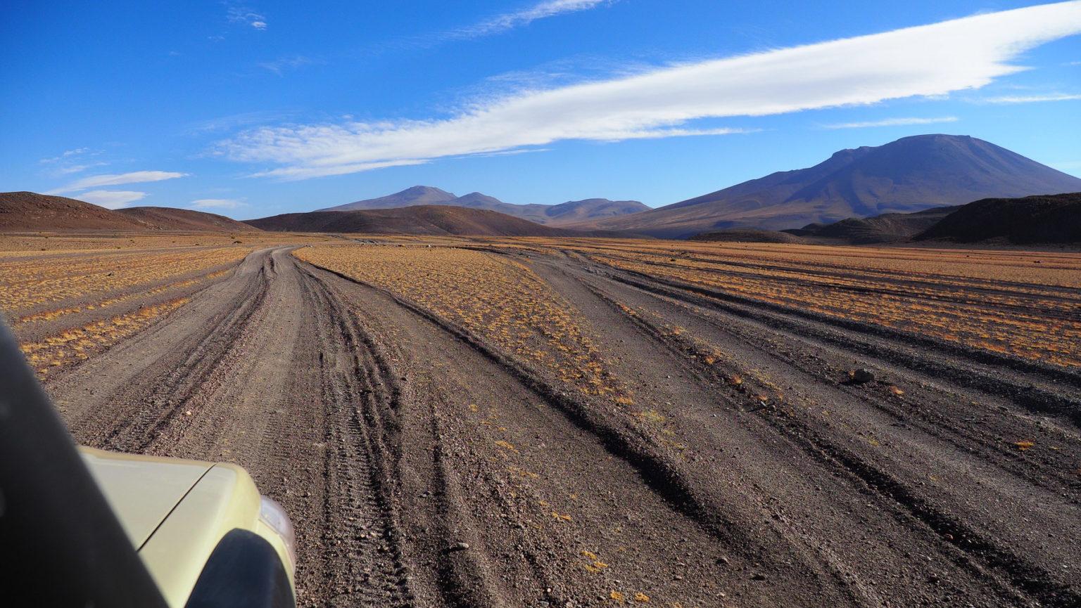Gar nicht so einfach den richtigen Weg durch die Wüste zu finden