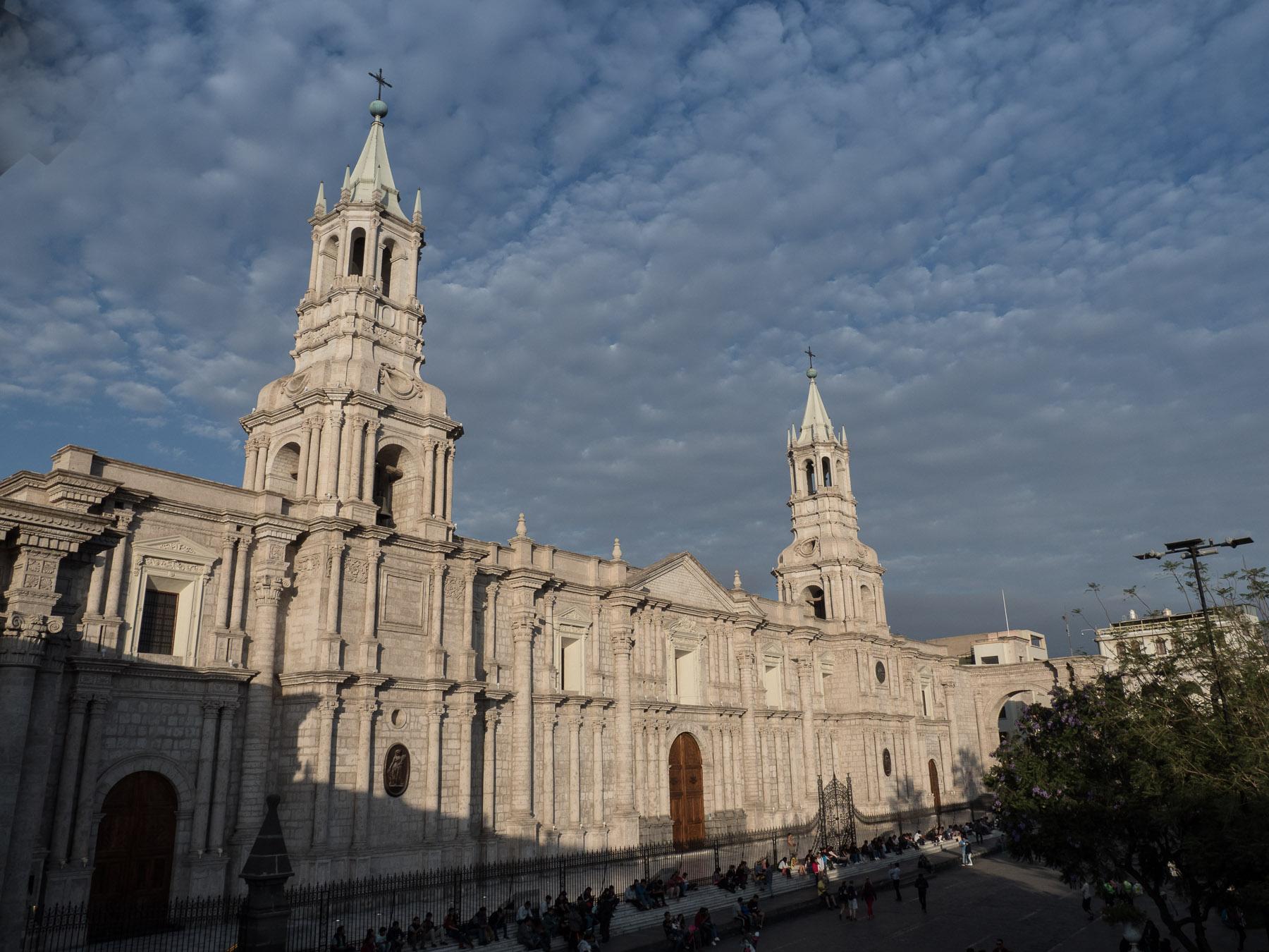 Kathedrale in der weißen Stadt Arequipa