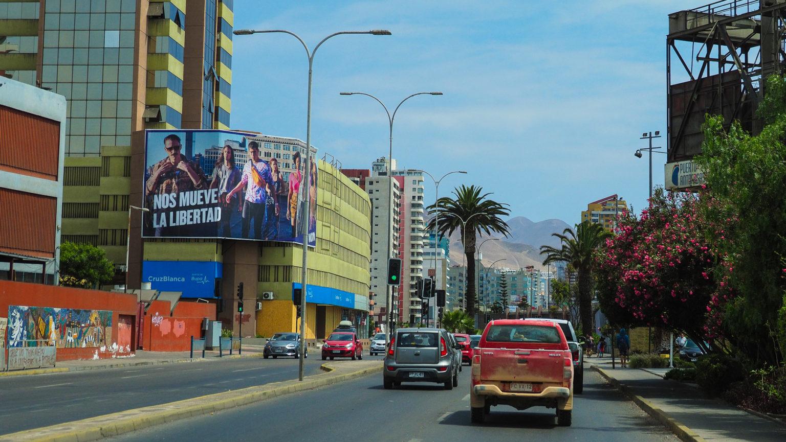 Nos mueve a Libertad – Das Motto der Unruhen in Chile