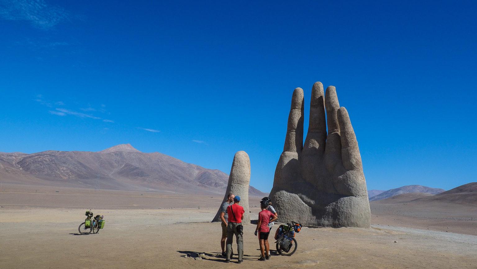 Wiedersehen an der Mano del Desierto