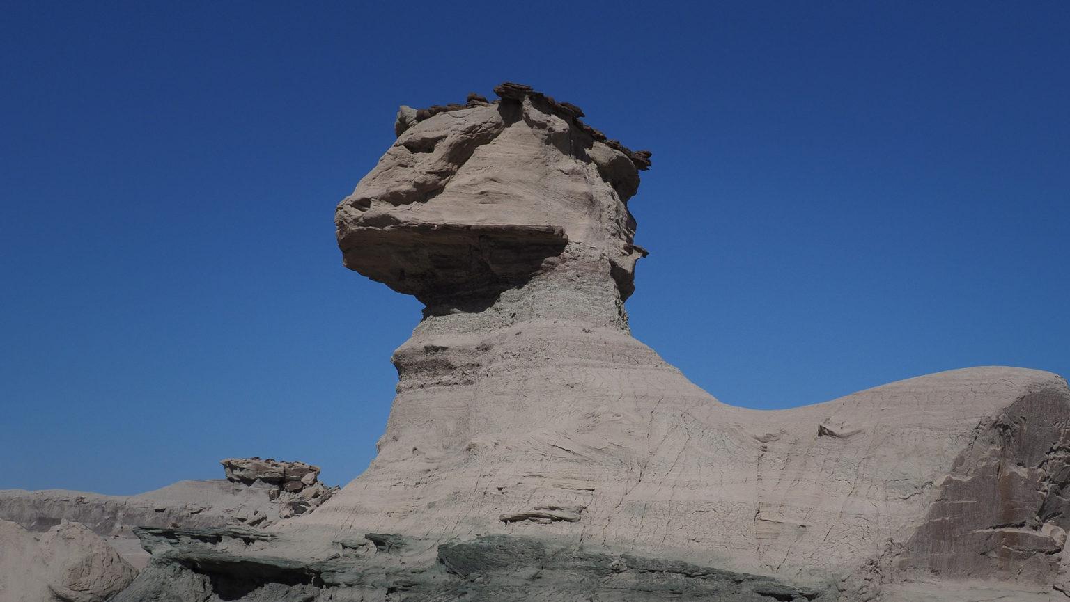Im argentinischen Mondtal gefällt uns die Sphinx