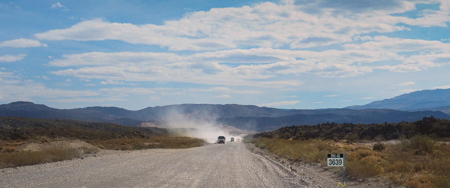 Ganz schön weit, noch3639 km bis Feuerland  – auf der Ruta 40 nach Süden