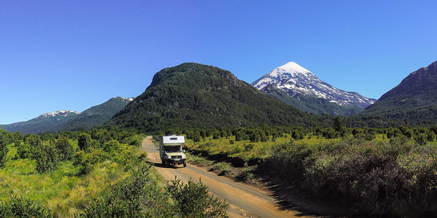 Fahrt durch den Lanin National Park