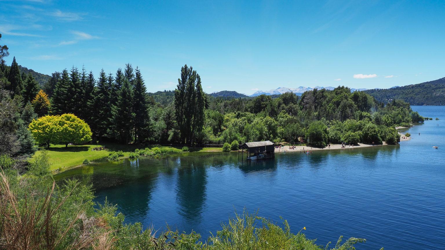 Colonia Suiza am Lago Nahuel Huapi, hier kann man's aushalten